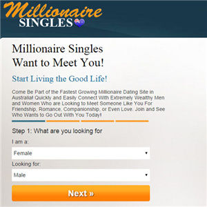 dating site to find millionaires You have to sign up on this dating site and get free goal of developing personal and romantic relationships millionaire dating site reviews - do you.