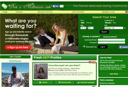 Best online dating site for millionaires